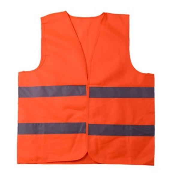 Alta visibilità di lavoro sulla sicurezza Edilizia Vest traffico d'avvertimento riflettente lavoro maglia verde riflettente Traffic Safety Vest