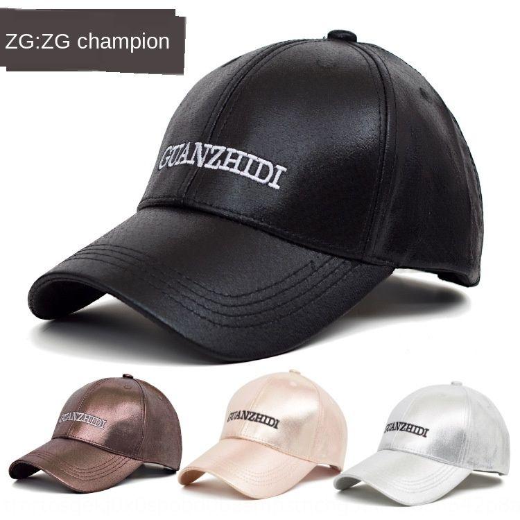 2020 cuir lettre hommes en plein air Mode féminine casquette de baseball Casual casquette de baseball chapeau coréen