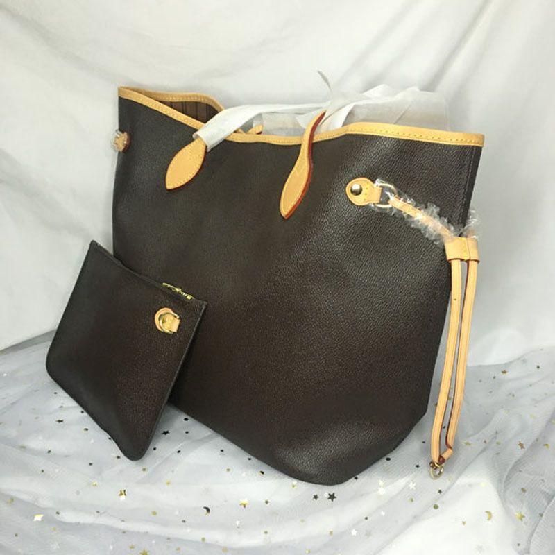 Sac à main en cuir d'épaule nerveux avec portefeuille mm Shopping Sac de voyage Femme Classic Fashion Embrayage Favo Sacs à main M40990 M40995 GM GEN GBQX