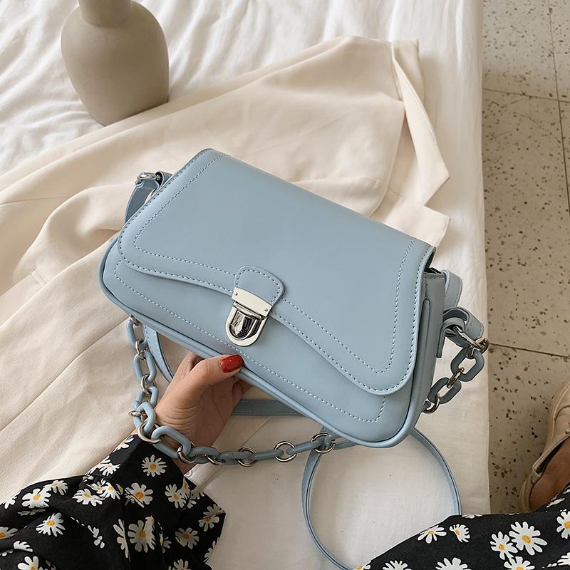 Mulheres couro meninas bolsas saco pequeno sólido mensageiro sacos de crossbody high feminino principal do ombro sacos de couro de couro um novo omvri
