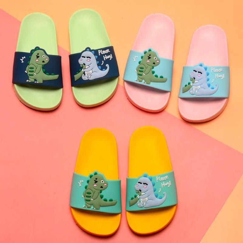dinosaur kids slippers