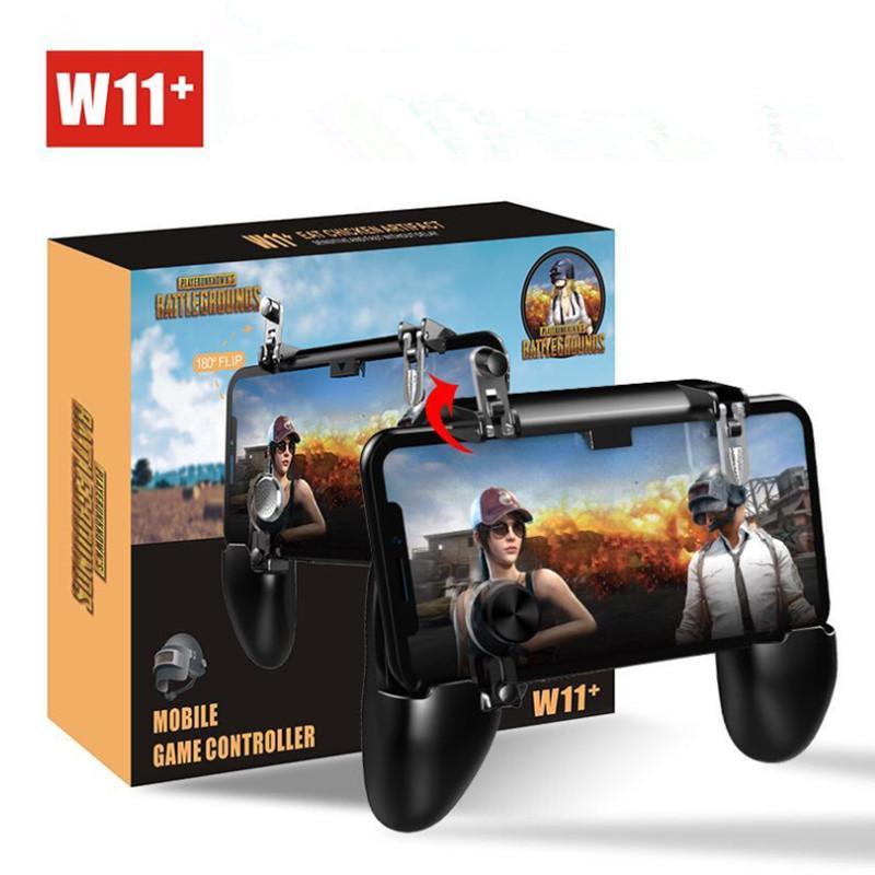 Joystick sem fio W11 + PUBG Móvel Gamepad Controlador PUBG Jogo Shooter Controller para iPhone Samsung Android Phone