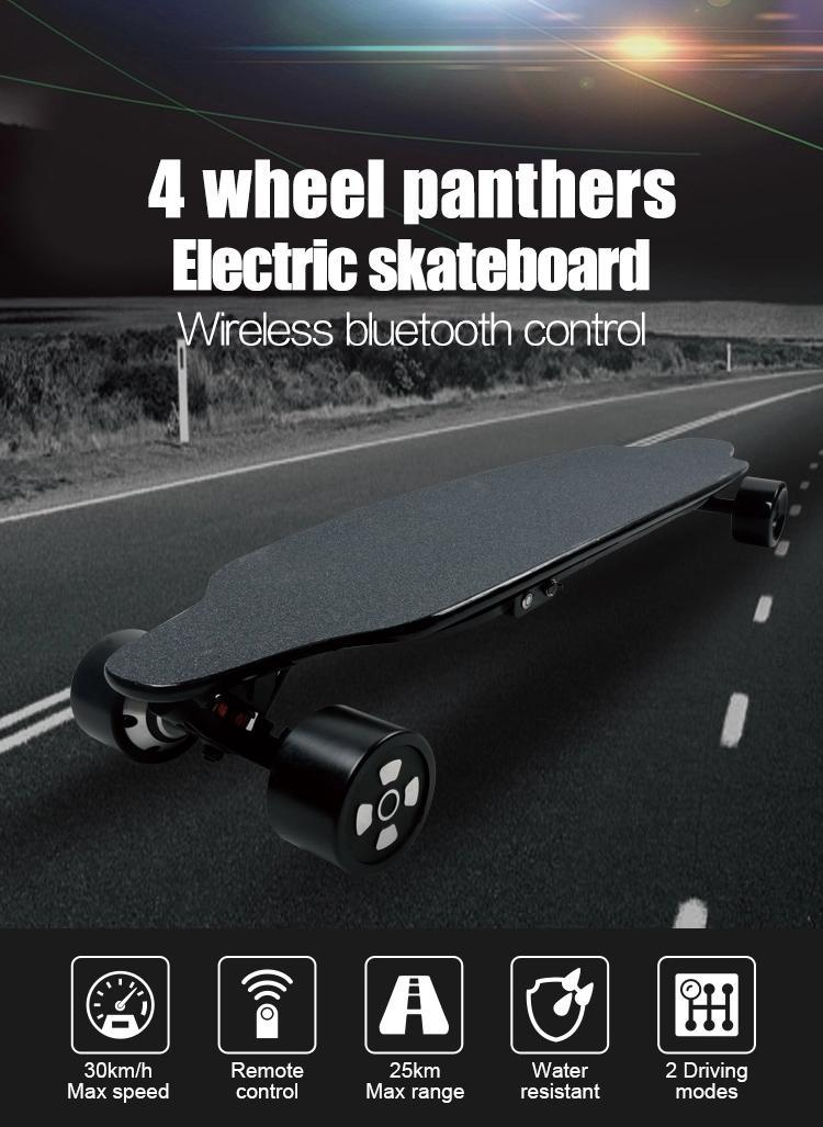 2020 브랜드 디자인 MANKE 공장 직접 판매 전기 스케이트 보드 원격 제어 MK036 4 휠 자체 균형 스케이트 보드