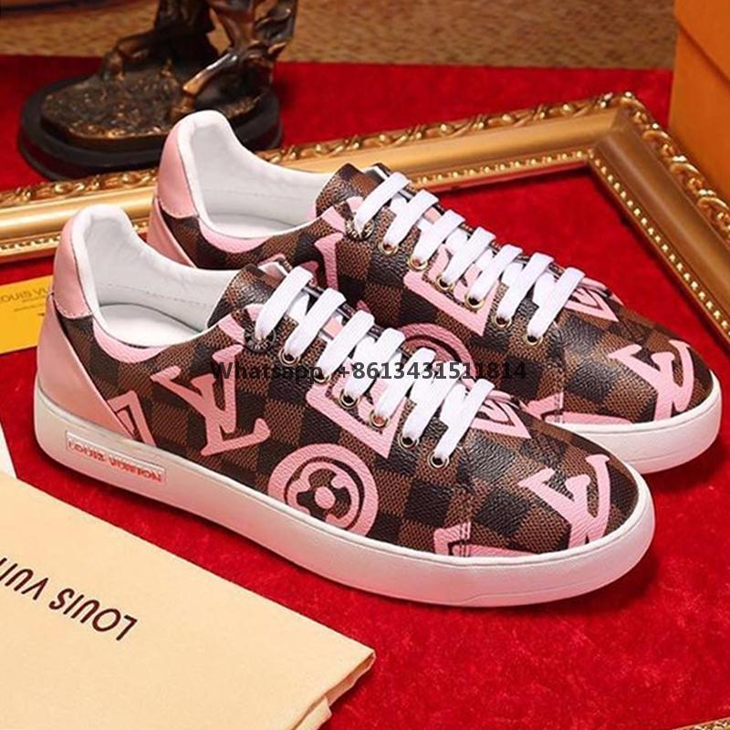 Мода женская обувь Footwears с коробкой FrontRow Sneaker Chaussures De Femme Повседневная обувь женская люкс Спорт Footwears Леди Мода обувь