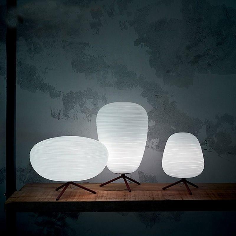 Современное белое стекло столовые лампы стол свет дома живущая столовая комната исследование декор искусства чтение освещения светильника ta025