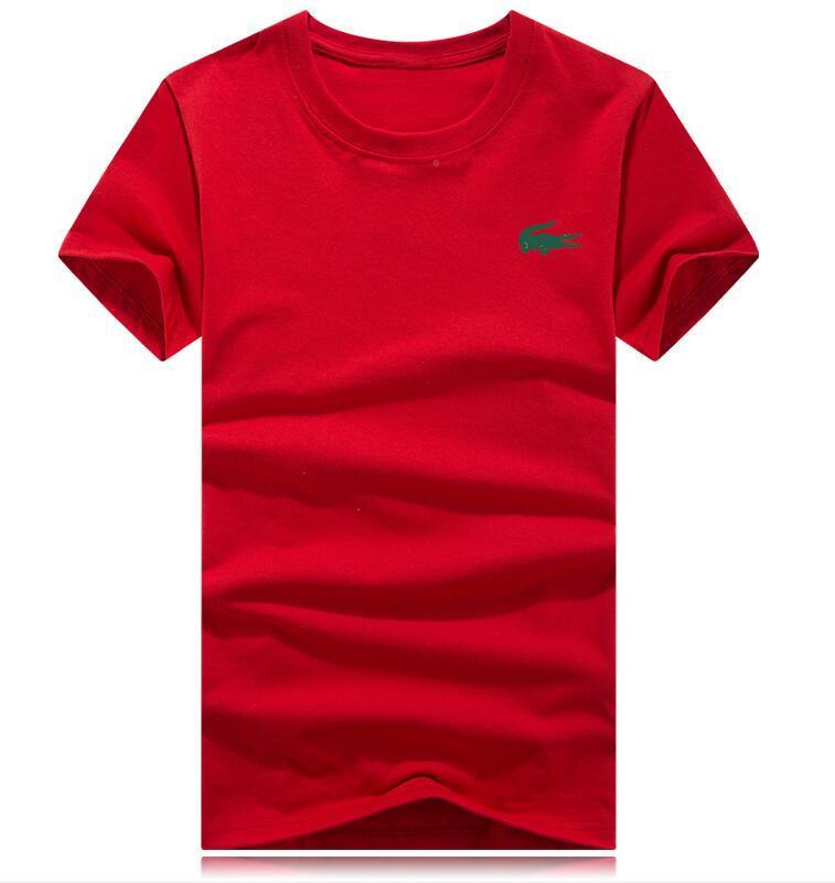Весна лето 2019 новых люди с короткими рукавами футболка дизайнера цветой полосы печать бренд мужская футболка повезла воскресные случайные женщин футболки з-5xl