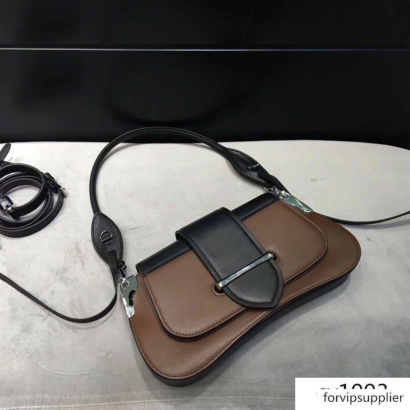 hakiki deri çanta en kaliteli kadın tasarımcı Sidonie omuz çantaları Dana derisi 2020 Lüks çanta