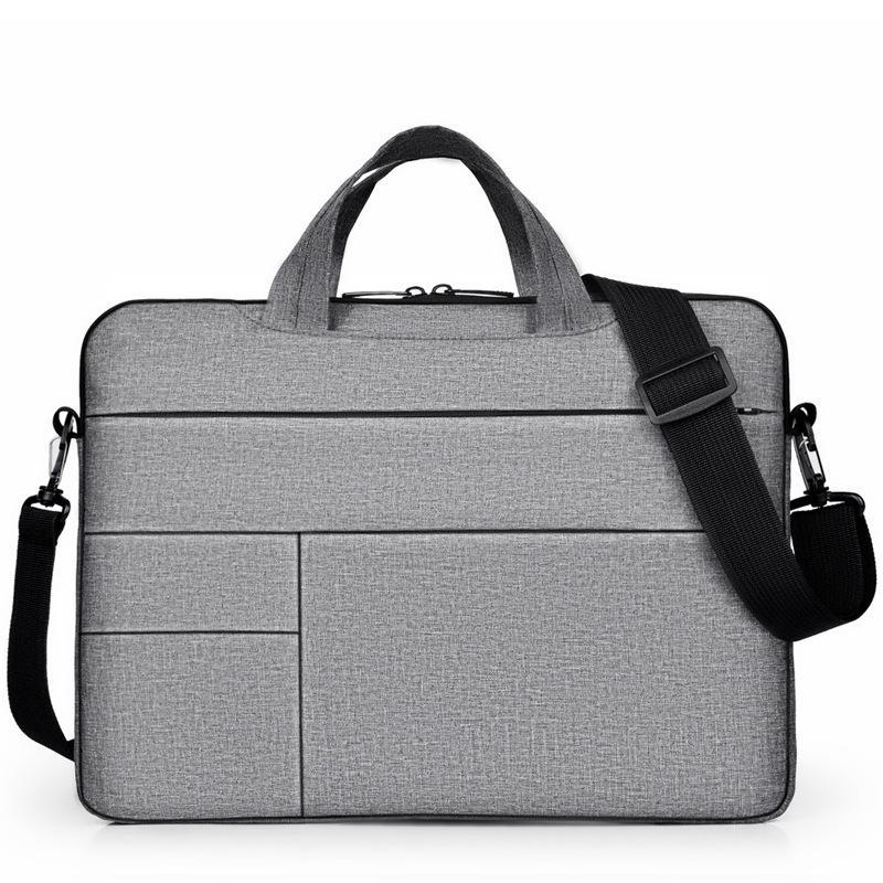14 15.6 بوصة حقيبة كمبيوتر محمول حقيبة حقيبة حقيبة يد ل xiaomi dell asus lenovo hp acer macbook air pro handbags wjj