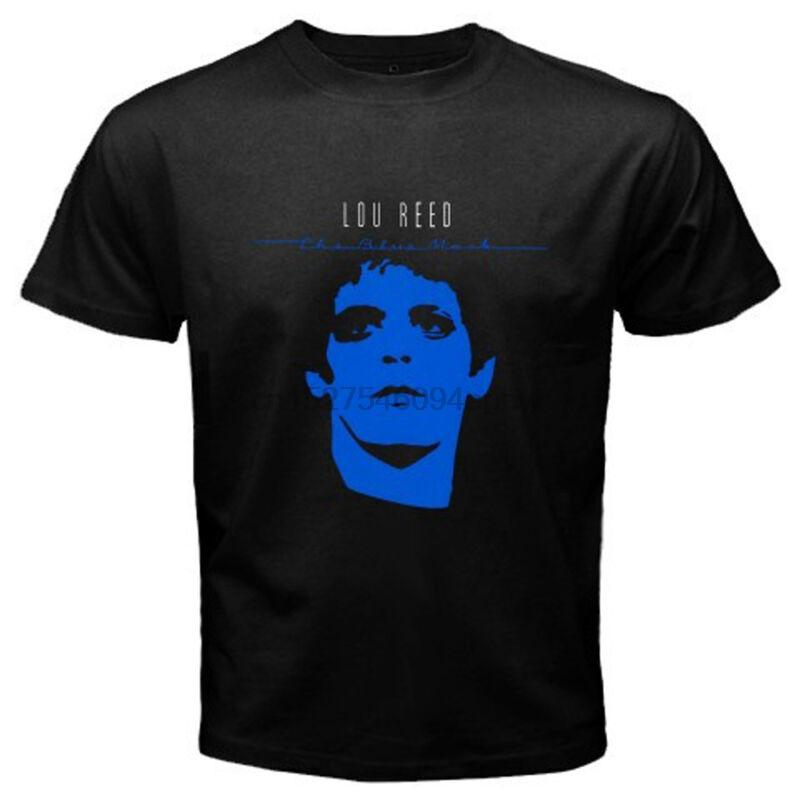 Lou Reed The Blue Mask Rock Icône T-shirt noir pour homme Taille S M L XL 2XL 3XL