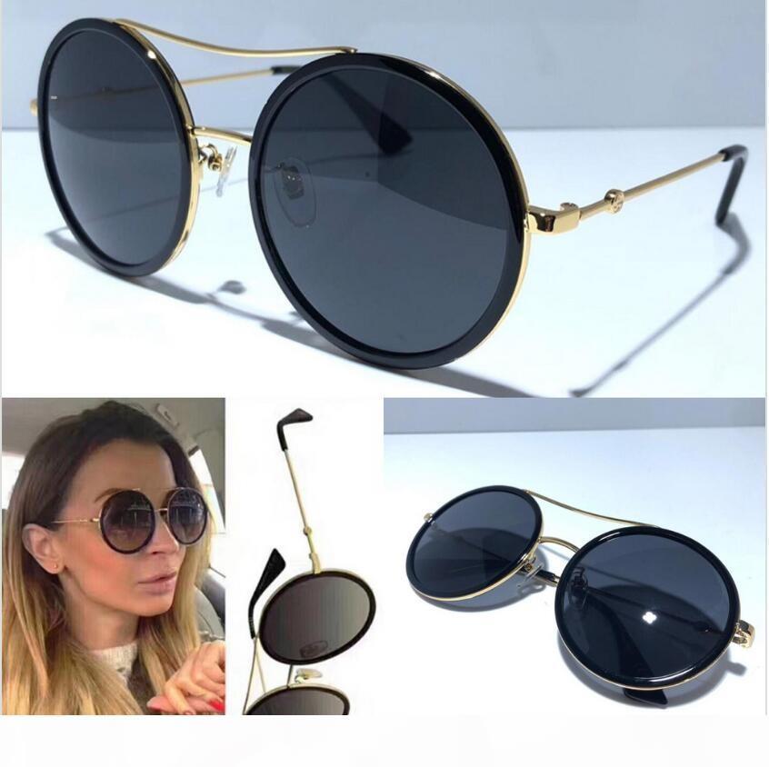 Nuovo di occhiali da sole 0061 occhiali da sole per occhiali da sole donne donne donne progettista rivestimento occhiali da sole vintage estivi protezione UV con box