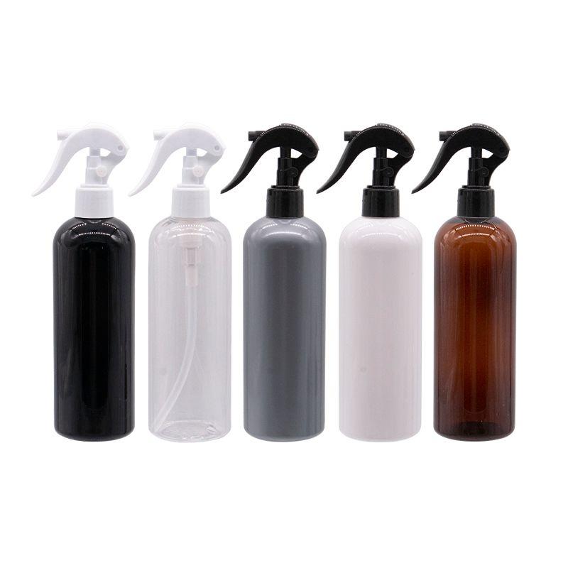 المضخات المستخدمة زجاجة 300ML البلاستيك الزناد البخاخ المياه للماكياج الزهور المنزلية رش رذاذ مضخة 300CC 10oz سعرنا زجاجات