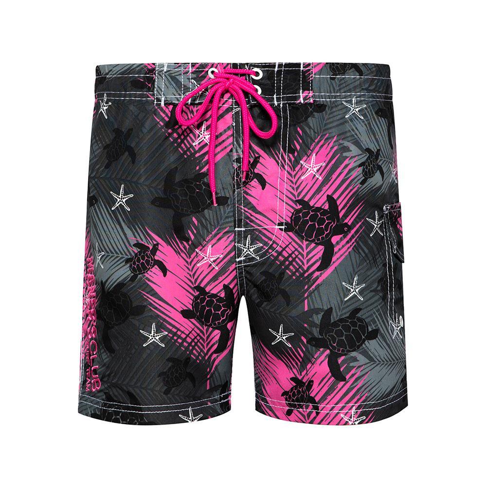 Hommes Summer Beach Board Shorts Short Sea Turtle Imprimé Surf Natation Trunks respirante Plage Pantalon 3 EU Couleur Taille S-2XL