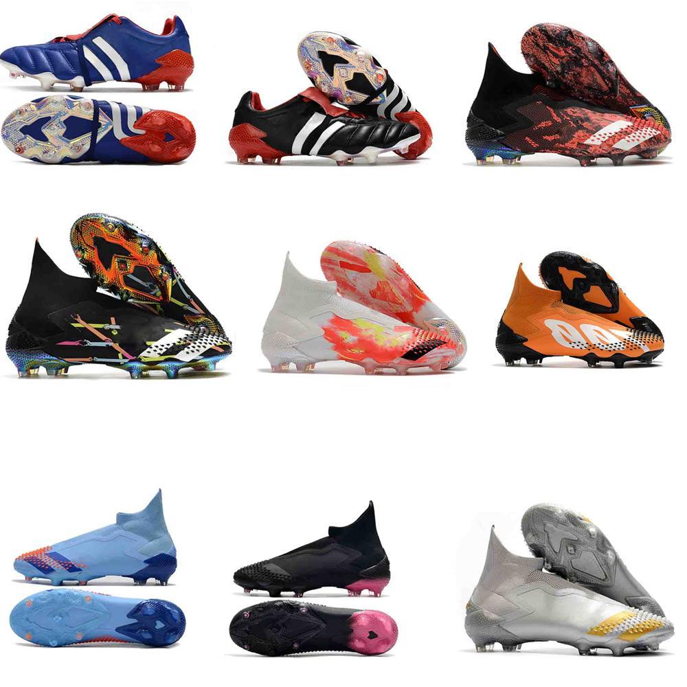 cr7 de chaussures originales Copa PREDATOR 20.3 Crampons FG Chaussures de soccer Predator mutateur 20+ Chaussures de football en cuir BOTINES futbol
