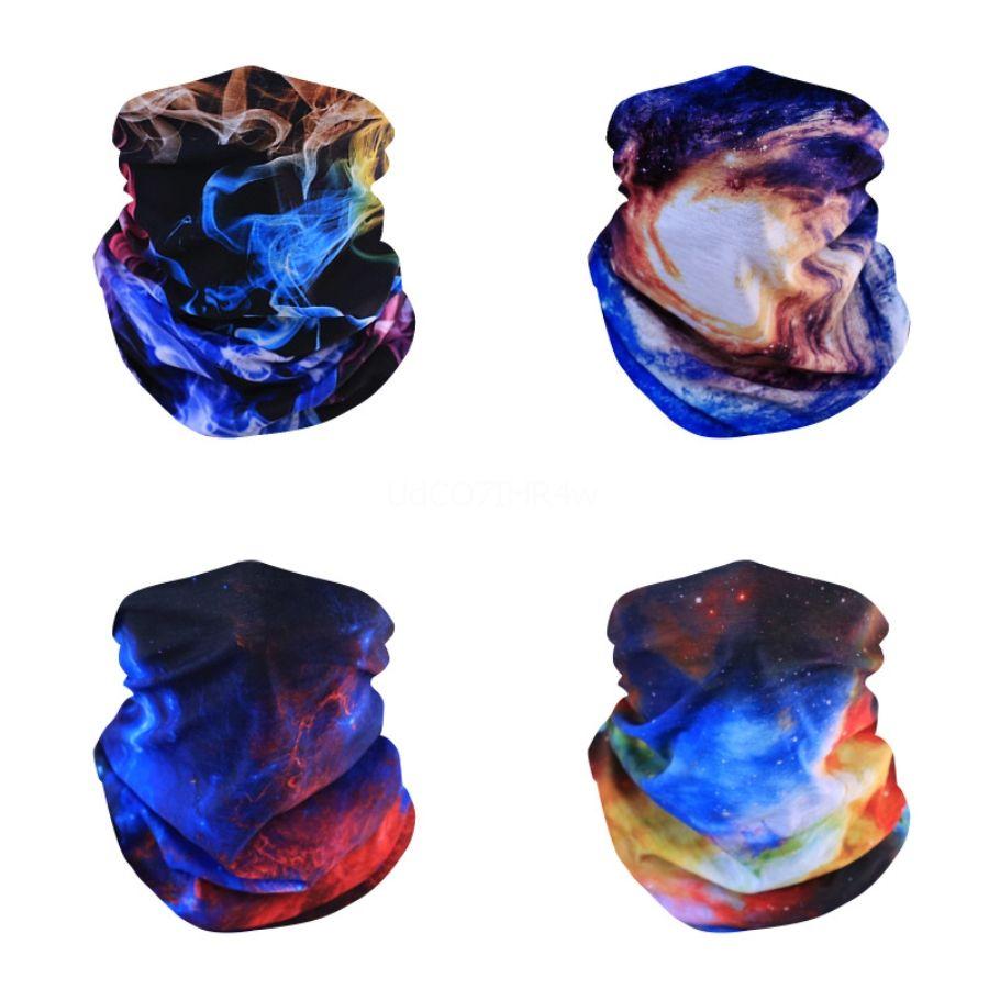 Máscara FyMnZ al aire libre a prueba de viento de la bufanda del pañuelo mágico UV Esquí Senderismo Pesca Ciclismo bufanda de cuello de la cara Protección de la bufanda # 447