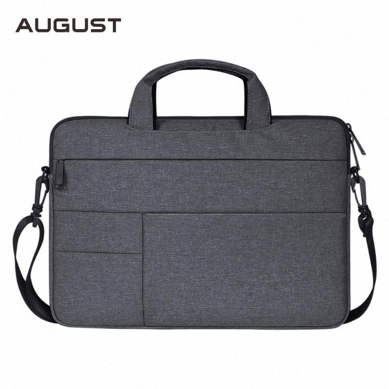 Negocio para hombre carteras de gran capacidad de 15 pulgadas portátil bolsa casual Oxford bolsas de mensajero de la cartera de oficina bolsos para hombre EY7T #