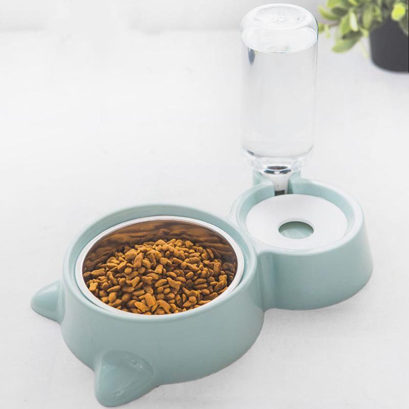 New Cat Gamelle pour chien d'eau Feeder Bowl Cat Kitten Fontaine d'eau potable Gamelle Gamelle marchandises chargeur automatique de l'eau pour Cat Dod