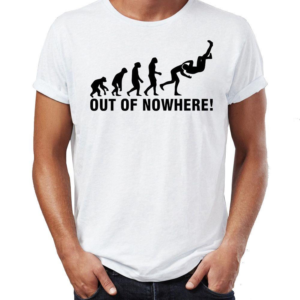 Marvel homens camisetas Rko Outta Nowhere impressionante arte impressa Tee Verão / Outono T-shirts O-pescoço por Adulto