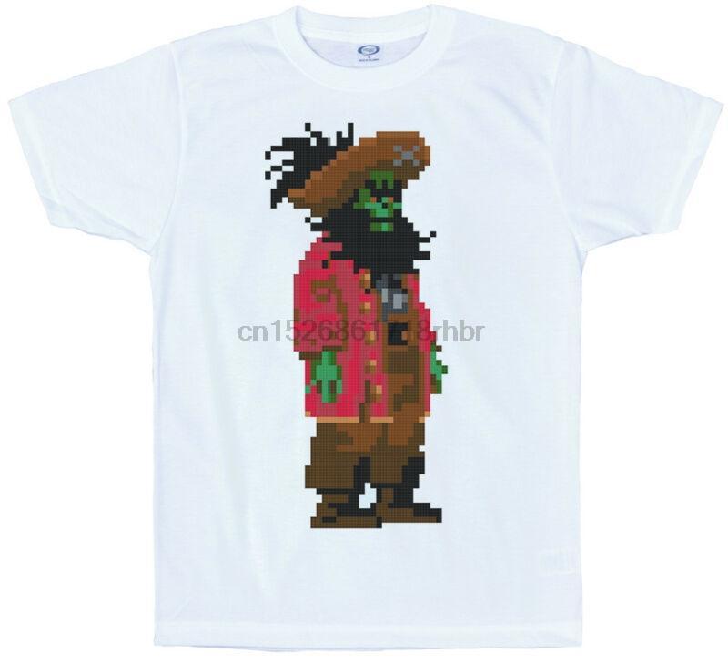 LeChuck camiseta píxeles secreto de la isla de los monos de 8 bits juego de diseño retro