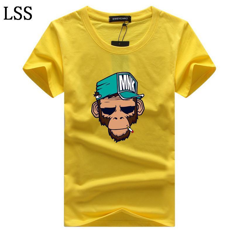 Men's T-Shirts Plus Size S-5XL Tee Shirt Homme Summer Short Sleeve Men T Shirts Male TShirts Camiseta Tshirt C-2
