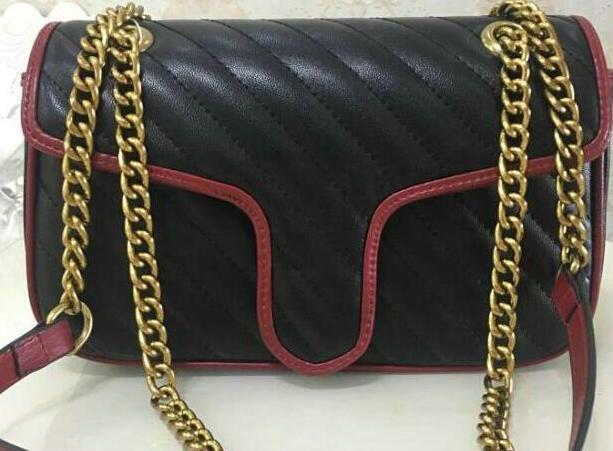 2020 Высокое качество новых женщин сумки Золотые цепи плеча сумки Crossbody Soho Сумка Disco Сумка Кошелек 5 цветов qcty87