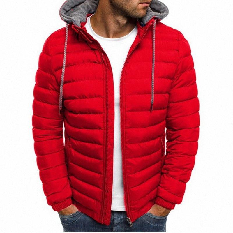 2020 2020 겨울 후드 자켓 패딩 자켓 남성이 두꺼워 따뜻한 경량 파카 새로운 남성 방풍 재킷 Zvxi 번호