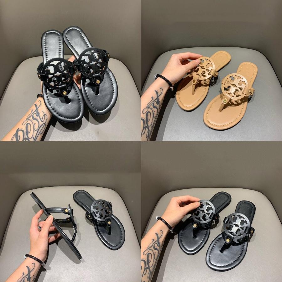 Las mujeres más del tamaño Zapatillas club atractiva del verano Zapatos Scuff zapatos de los pares de gancho y bucle ropa de playa con paneles sandalias al aire libre de interior 0 # 274