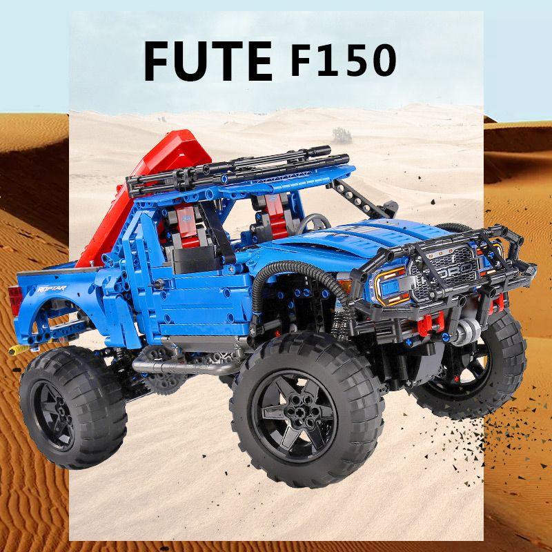 SEMBO تكنيك F-150 رابتور شاحنة بيك أب الخالق الخبراء ألعاب تركيب هدية لبنات البناء مع متوافق Legoings تكنيك 701990