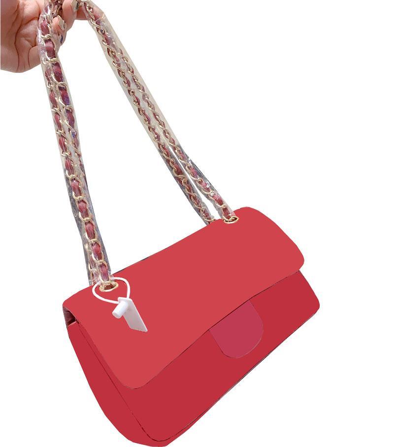 moda famosa Classic Flap Borse del progettista delle donne Plaid alta qualità catena borsa di cuoio reale della borsa di Crossbody spalla Messenger Bag Satchel