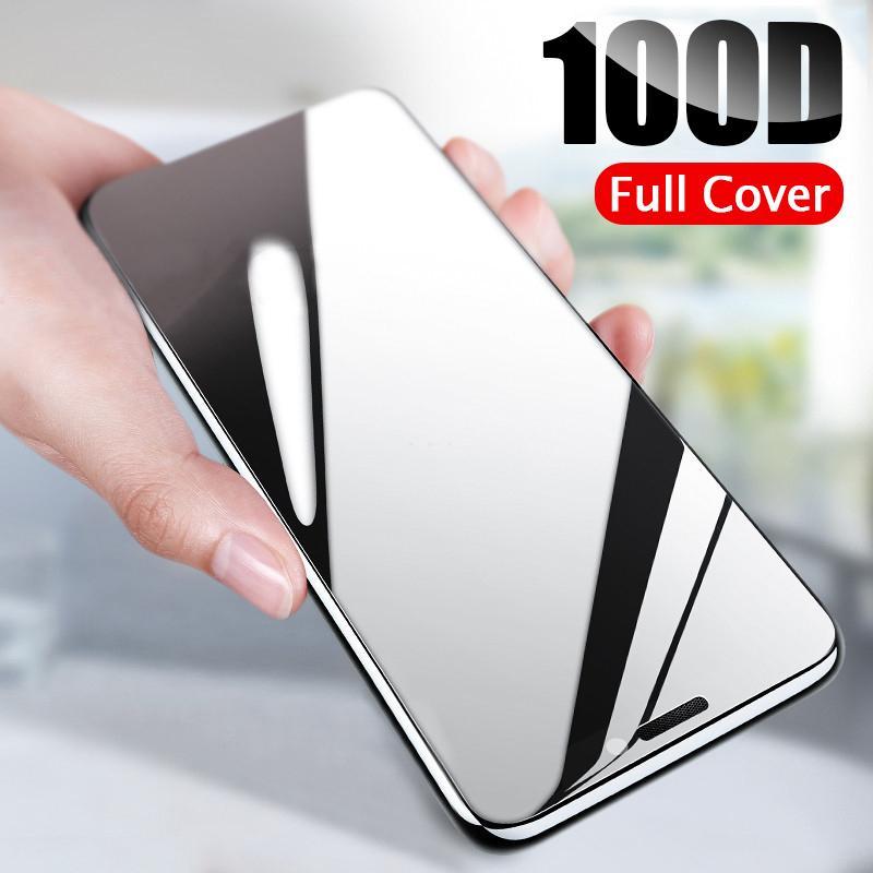 100D courbe pleine couverture de protection en verre sur le pour l'iPhone 11 11 XR Pro XS Max Trempé Protecteur d'écran iPhone 11 Pro Max Glass