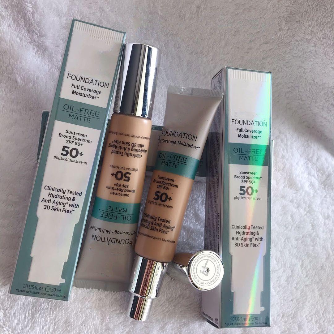 Top seller Cosmetics Bye Bye Foundation pleine couverture Hydratante 30ml article de haute qualité