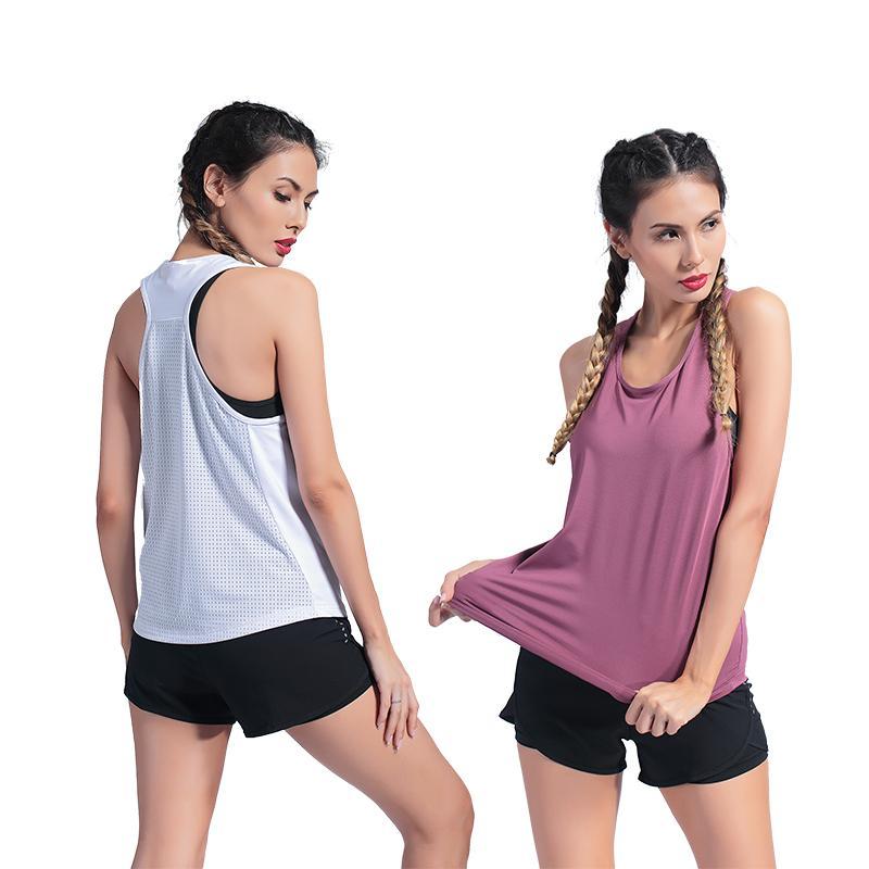 Yoga sexy shirt creux Tight Femme T-shirt Quick-Dry Sport Top élastique respirant sport Fitness Course Sport Tshirt Femmes