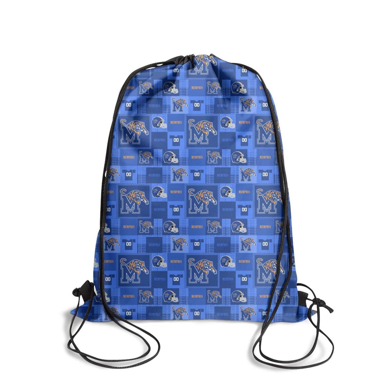 Memphis Tigers Luxury Brown Logo Fashion Sports Belt Backpack,Design Cool Suitable For Lattice Basketball Blue Black University Rainbow