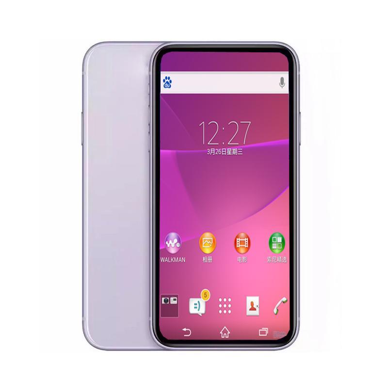 Goophone 11 6.1inch Quad Núcleo MTK6580 1G RAM 4G ROM Adicionar 4GB cartão de memória Bluetooth WiFi desbloqueado celular com caixa selada