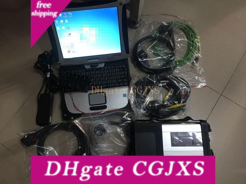 Super-MB-Stern C5 Sd schließen C5 mit 03 Software / 2020 Laptop Cf -19 Für Mb Auto Diagnose Sd Connect Diagnose Scanner