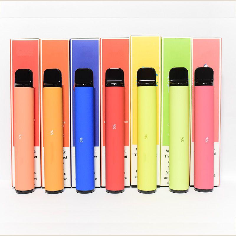 Mais barras pré-cheias de vaso de cigarro eletrônico vaca de cigarro eletrônico vara 800+ puffs e cigs vaporizador portátil xtra
