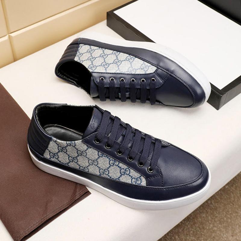 2021 hombres cómodos '; s Zapatos Zapatillas Hombre otoño y el invierno suave Footwears alta calidad top de encaje -Up deportes de los hombres Zapatos Fashio