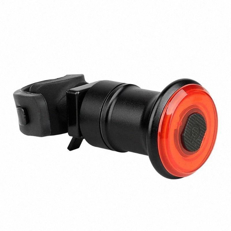 Portable Intelligent Bike Tail Light Brake Induction MTB Bike Bicycle Light USB Rechargeable MTB Rode Waterproof c1jv#