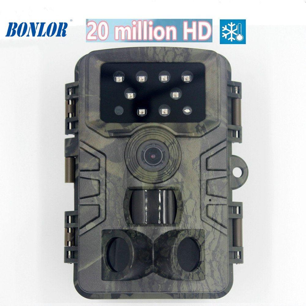HD 1080p Standalone Outdoor IP66 impermeável Hunting Camera ampla vigilância vida trilha câmera gravador de vídeo de visão noturna PR700