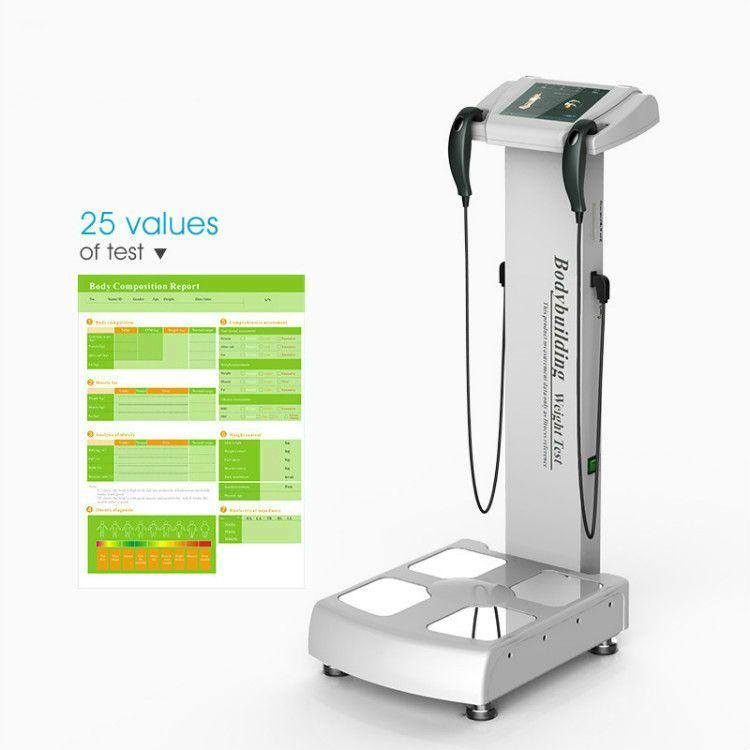 2020 NOVO Varredura do corpo do Analyzer para Máquina de teste de gordura Saúde Inbody Composição corporal Analisando equipamentos de análise de elementos bio dispositivo de impedância
