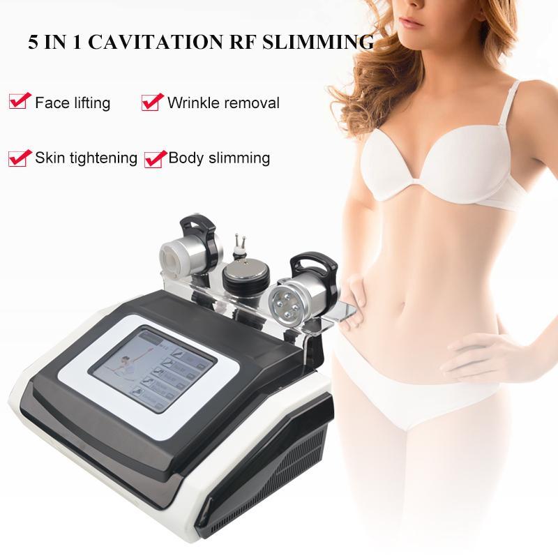 machine Cavitation face RF serrage des machines de liposuccion corps minceur à ultrasons cavitation Fat Réduire dispositif d'élimination de la cellulite