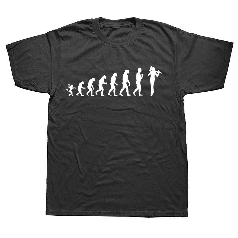 Keman Evrim Tişört Kişilik Mizah Erkekler Sunlight Tees Tişörtlü Erkekler Yeni Sıcak Yeni Desen Mürettebat Boyun Hip Hop