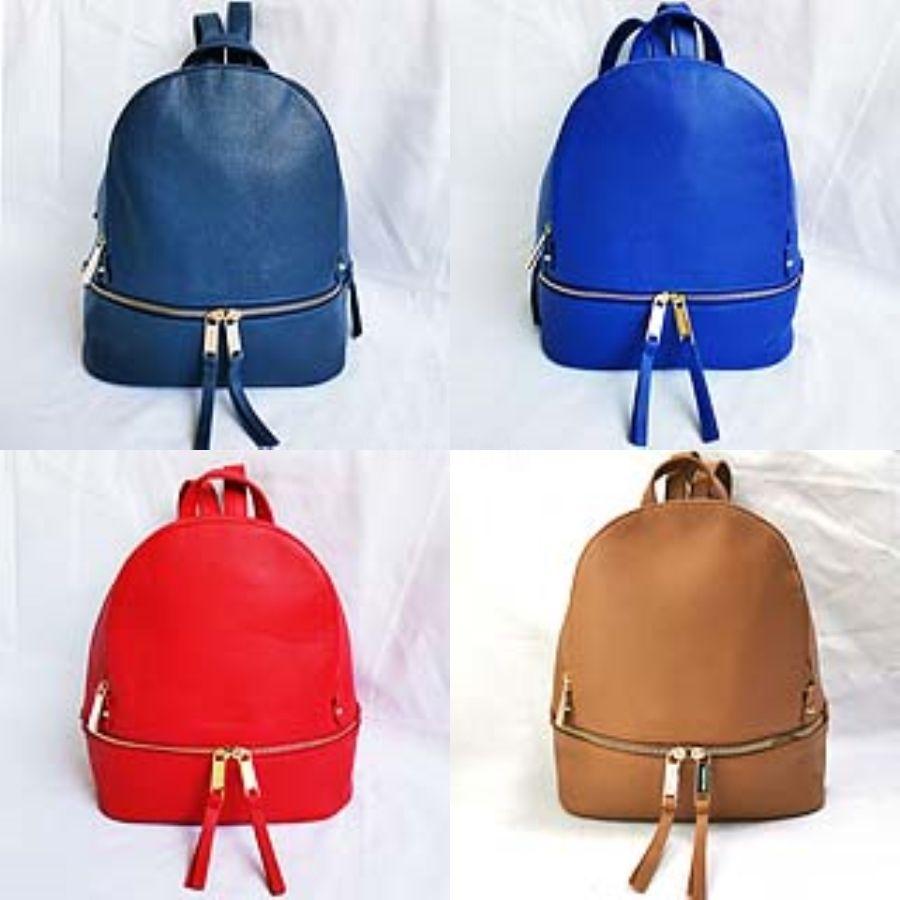 Rucksack aus Leder Damen Umhängetasche Jahrgang Bagpack Travel Rucksäcke für Schule Teenager Mädchen Back Pack Women # 137