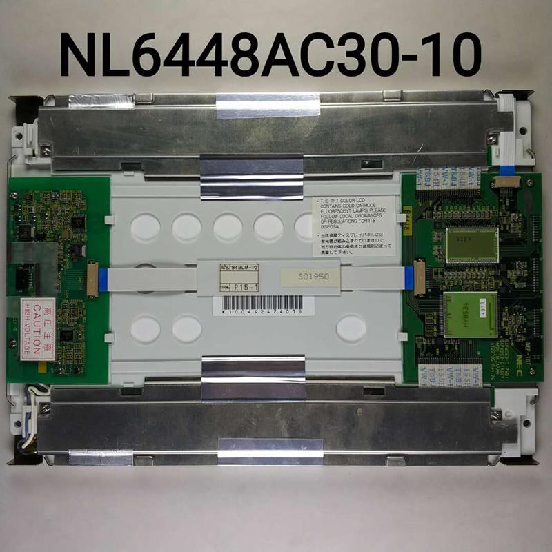 """100% TEST original A + NL6448AC30-10 NL6448AC30 10 9.4"""" 640 * 480 AFFICHAGE LCD industriel PANNEAU DE 1208"""
