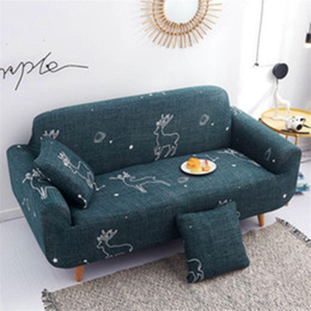Зеленый цвет секционные диван обложка для гостиной зимой тепло с наволочкой Роскошью Домашней мебели Protector