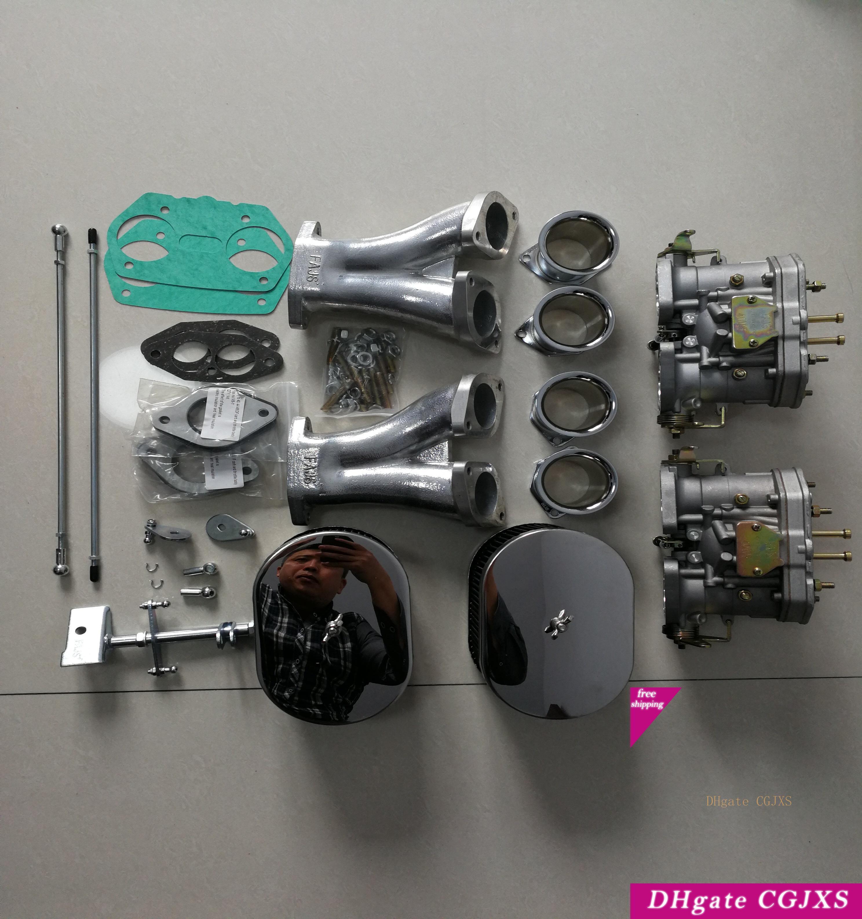 Sherryberg Carburettor Carb Conversion Kit For Vw Model T1 Fajs Hpmx Weber Idf 2 Carb Dual 40mm Carb Kit T1 Linkage Type 1 40idf T1 Empi