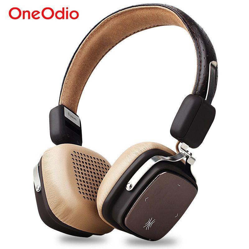 Kablosuz Kulaklık Katlanabilir Bluetooth 4.1 Kulaklık 500mAh Kablosuz / kablolu Spor Stereo Kulaklık ile Mikrofon İçin Akıllı Telefon T6190617 Oneodio