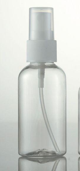 1000pcs / lot Şeffaf Plastik Boş Sprey Şişe Doldurulabilir şişeler 10ml / 30ml / 50ml / 60ml / 100ml