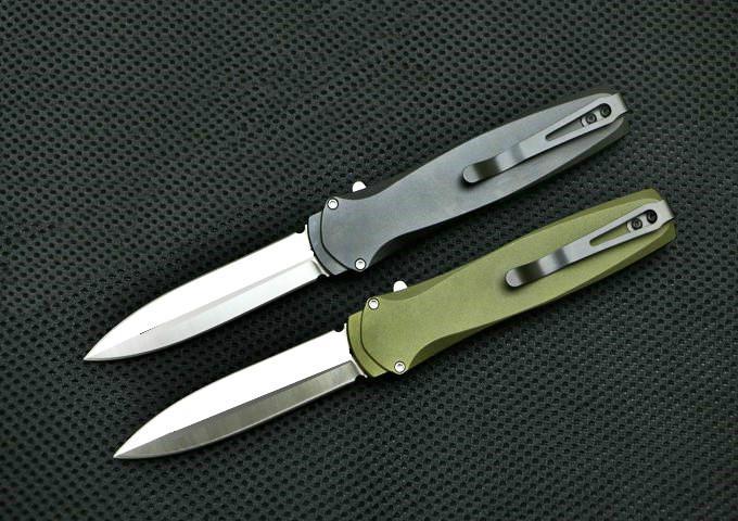 Anjo PROTECH escuro D2 lâmina dupla Caça ação auto coleção Canivetes presente de Natal para a ferramenta homens bolso