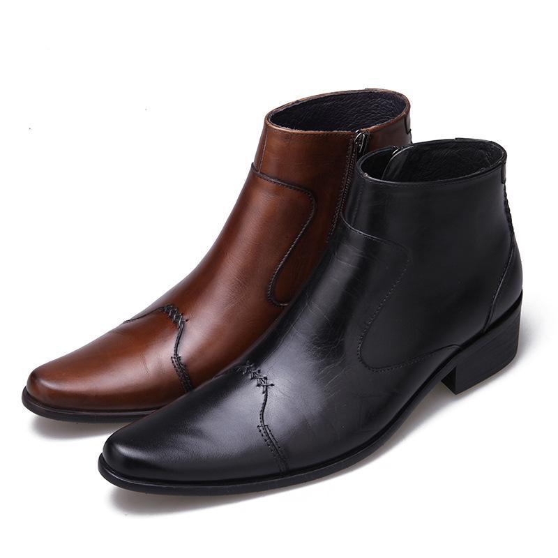 Chaussures Chaussures hommes Anti Slip résistant à l'usure Respirant Mode New High End Bottes d'été pour hommes d'affaires