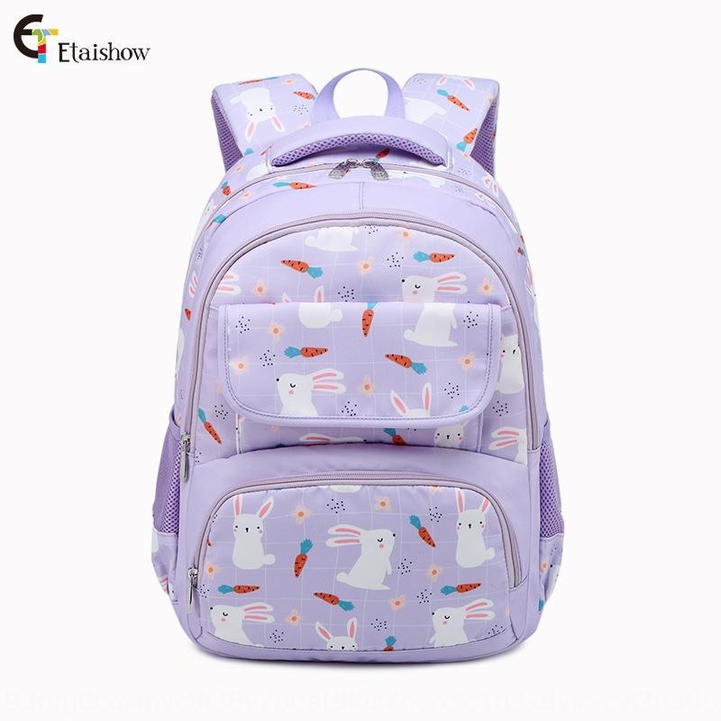 LbkGR Elève de 3456 femme lapin mignon légères de capacité imperméable grande pupille Cartable backpackbackpack 3456 femelle lapin mignon